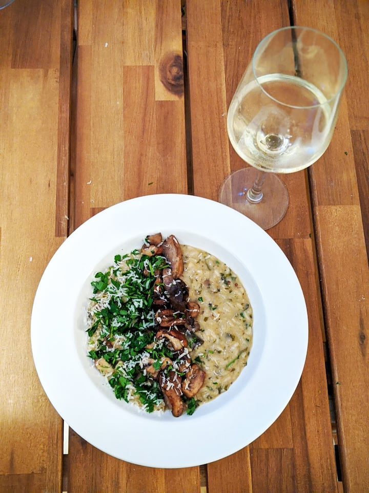 Cook a perfect risotto