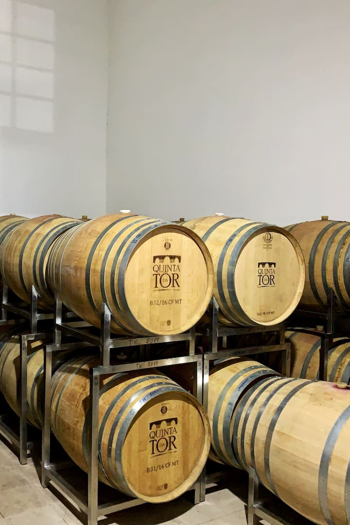 The good wine rests in the small barrel