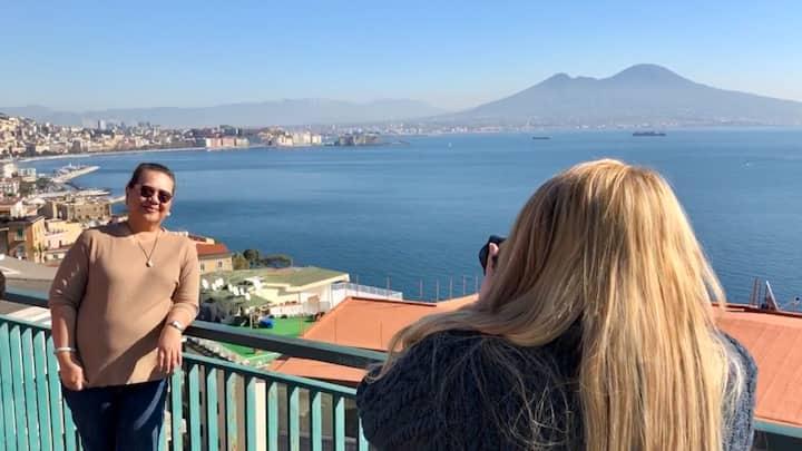 Panoramic view of Naples