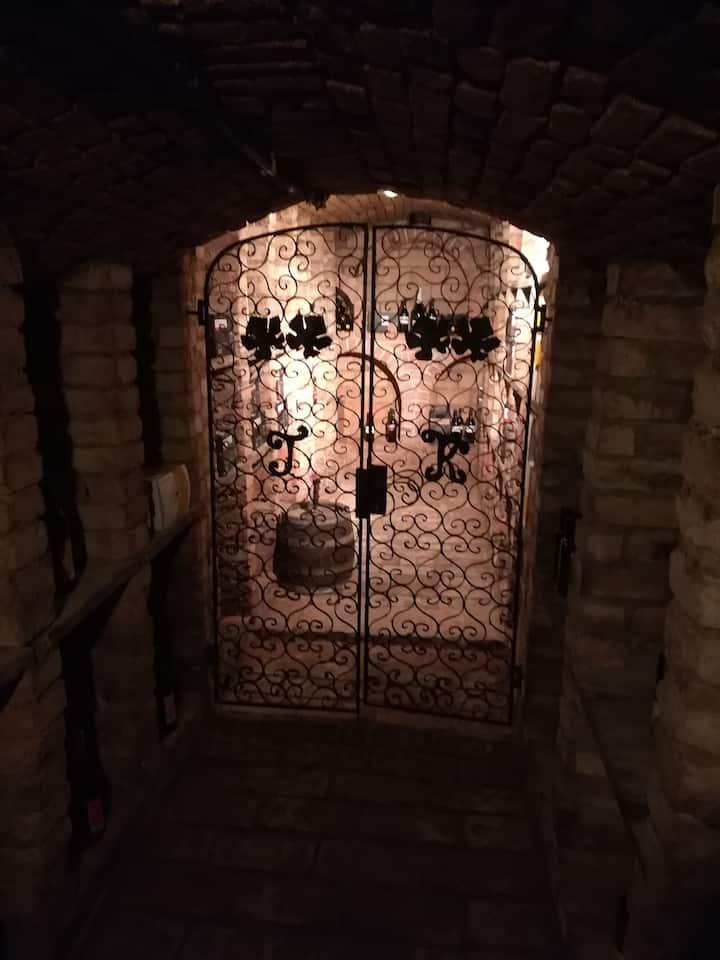 Old Cellar door at Reigl's