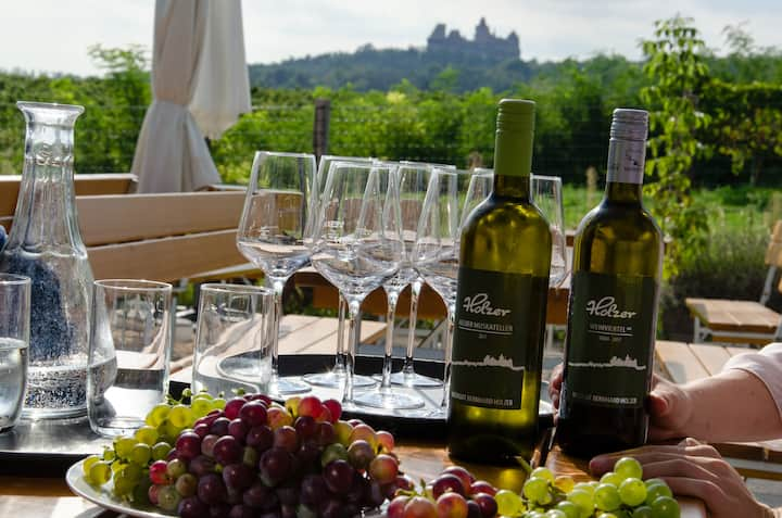 Tasting by the Castle
