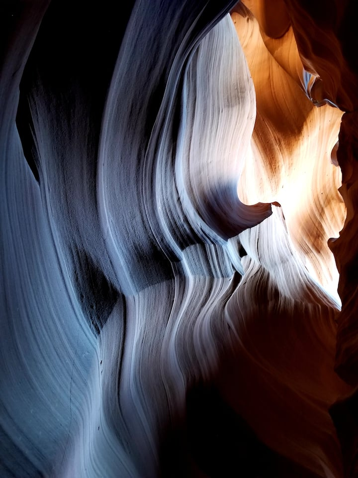 """Pure Beauty"" in Antelope Canyon!"