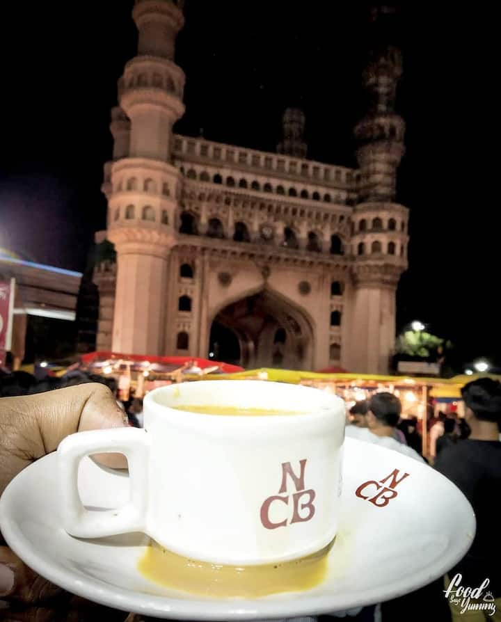 Famous Irani Tea with Osmania biscuit