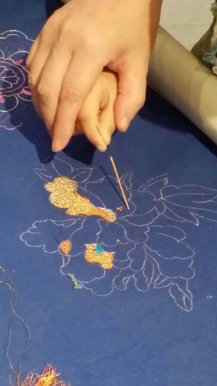 手把手教小朋友学习中国刺绣