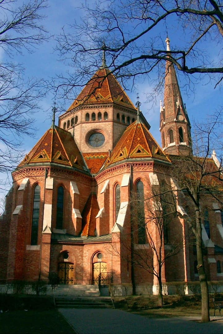 A beautiful reformed church
