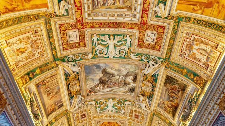 Admire the historic artworks