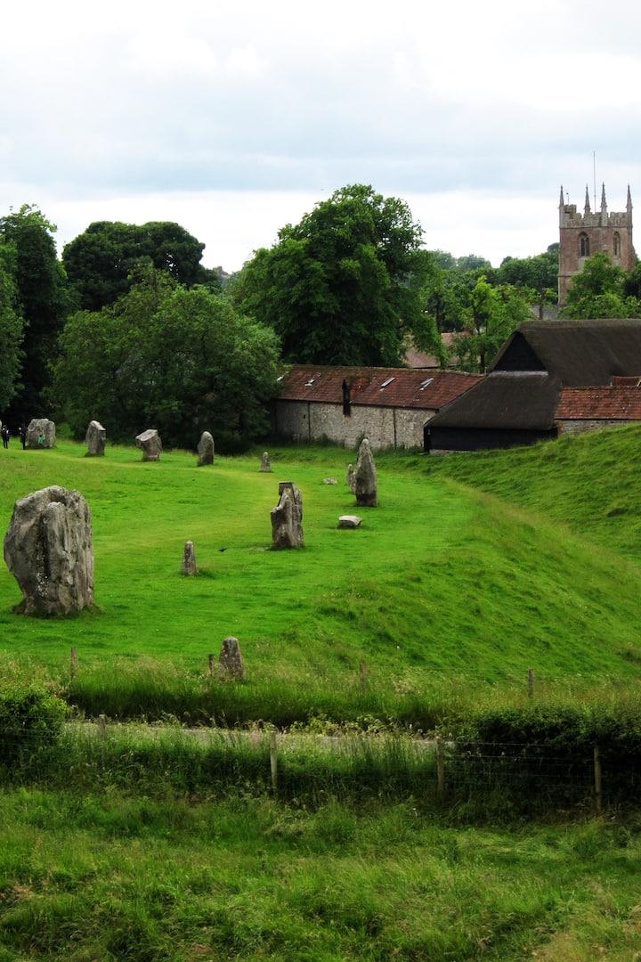 The outer circle at Avebury