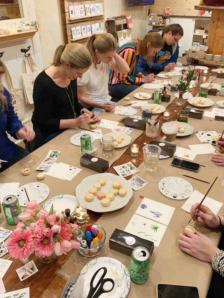 Experience art around the table
