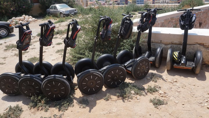Parking our Segways