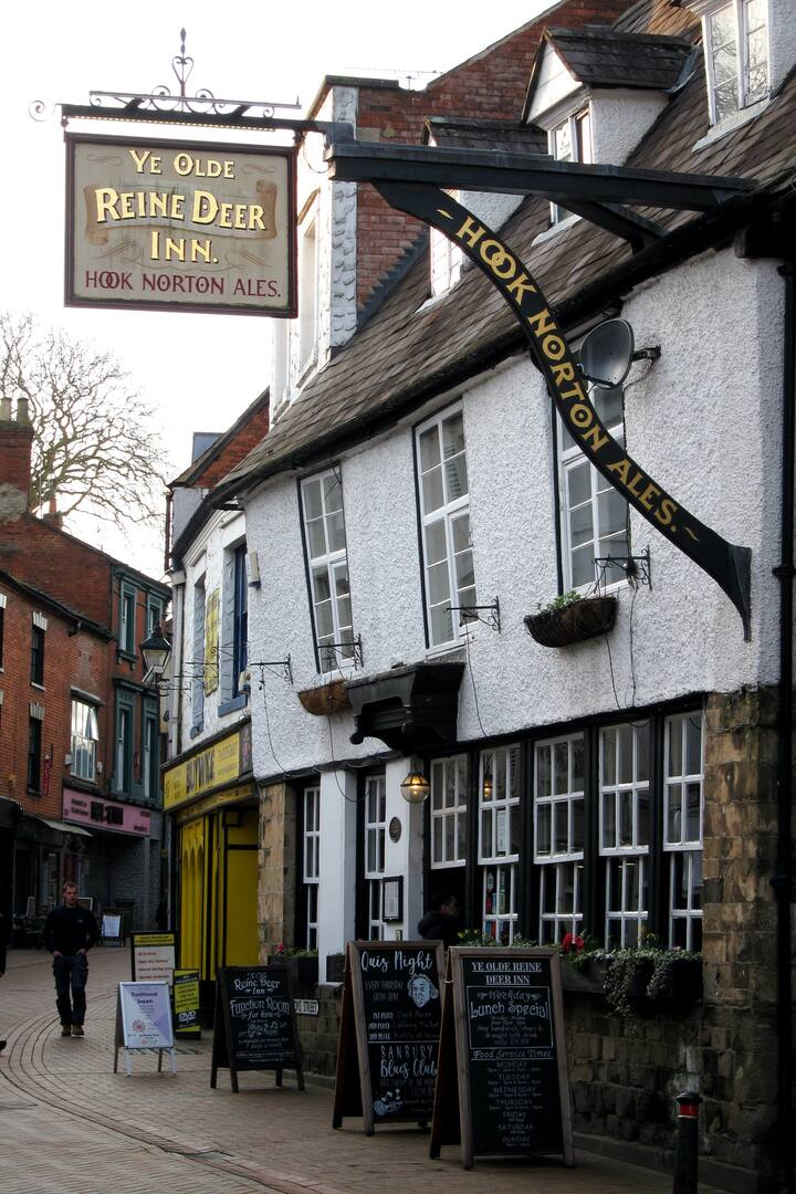 The famous Reine Deer Inn