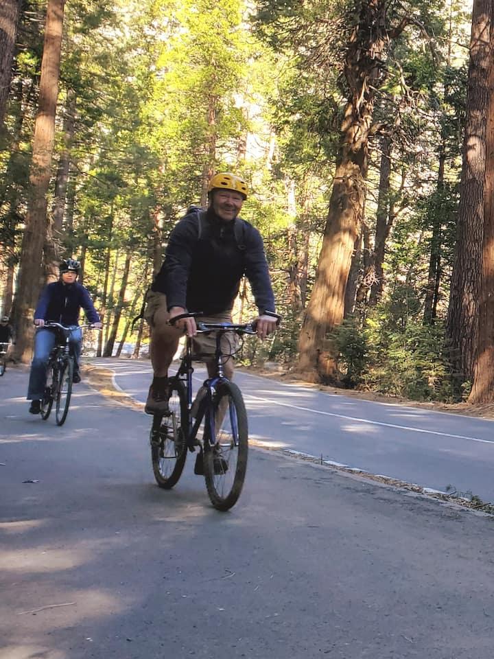 """Biking through """"The Valley"""""""