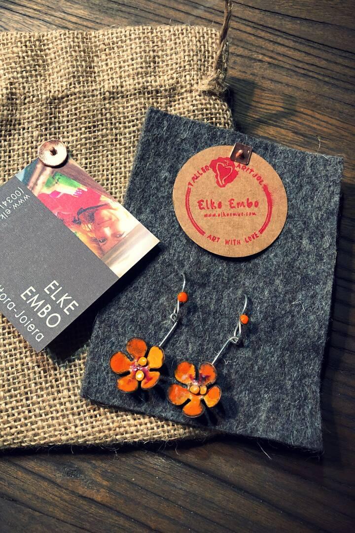 Pendientes de flores / Flower Pendants