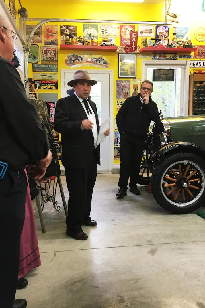Learning the history of the car industry