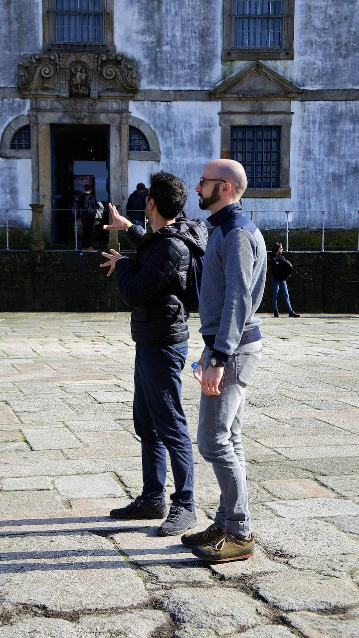 Rui e András em ação