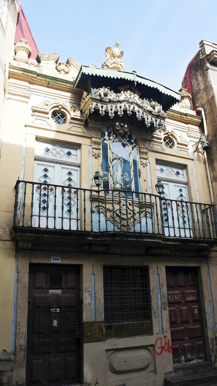 A única capela particular no Porto