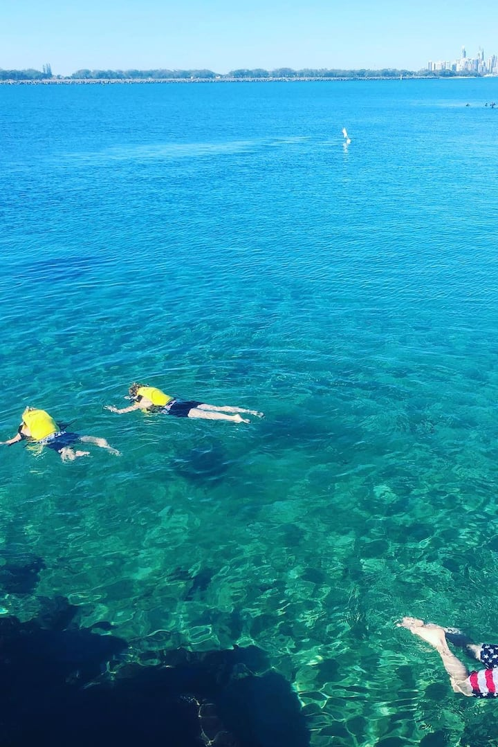 Snorkelling on the Gold Coast