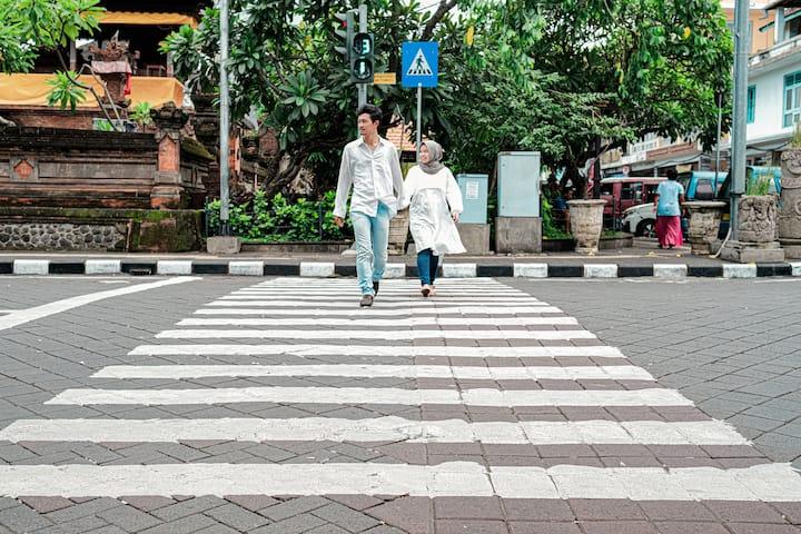 heritage area in Gajah Mada Street