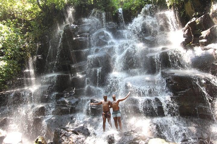 Kato Lampo Waterfall