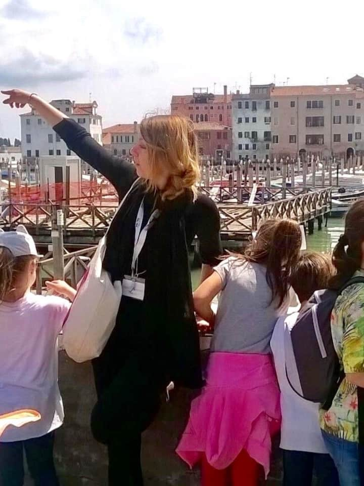 Family friendly tour in Venice