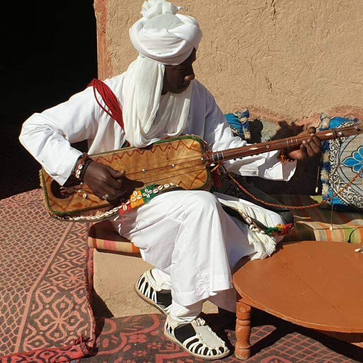 Music gnawa in Khamlia