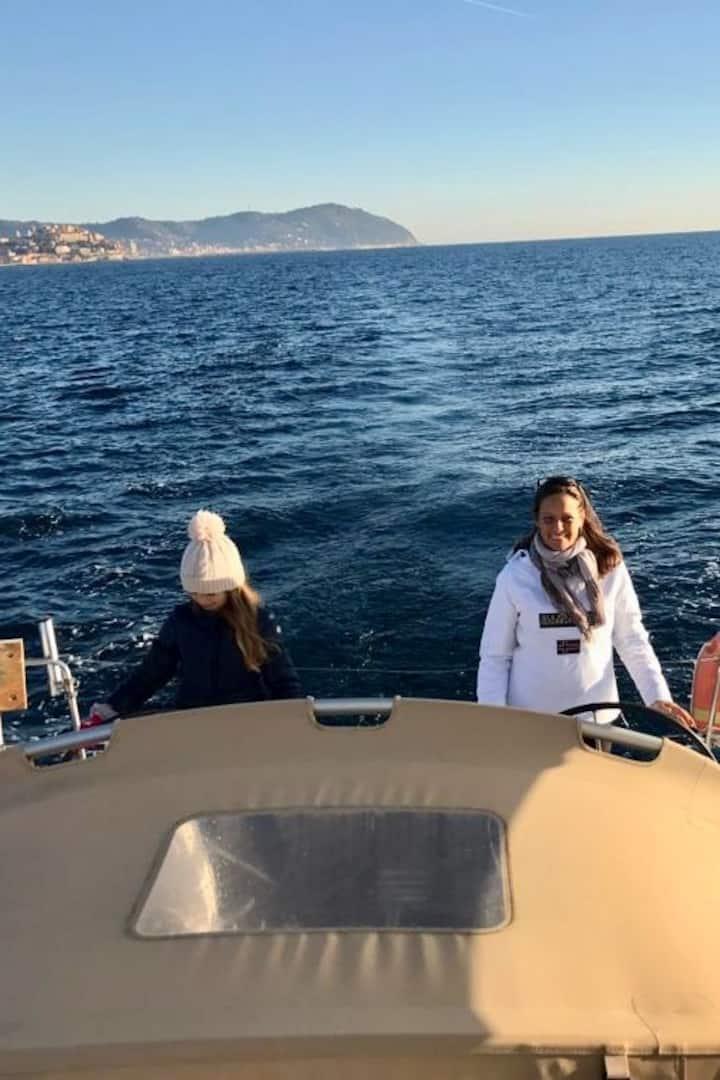 Me, onboard of Maruru