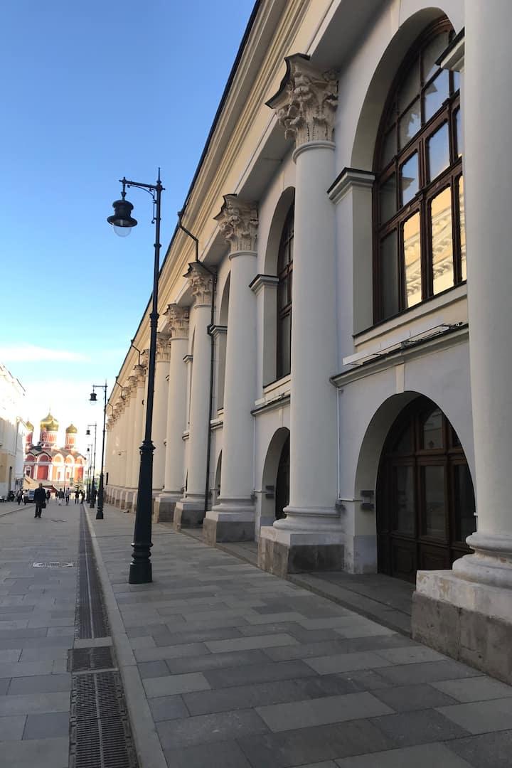 Гости Москвы времён Екатерины II