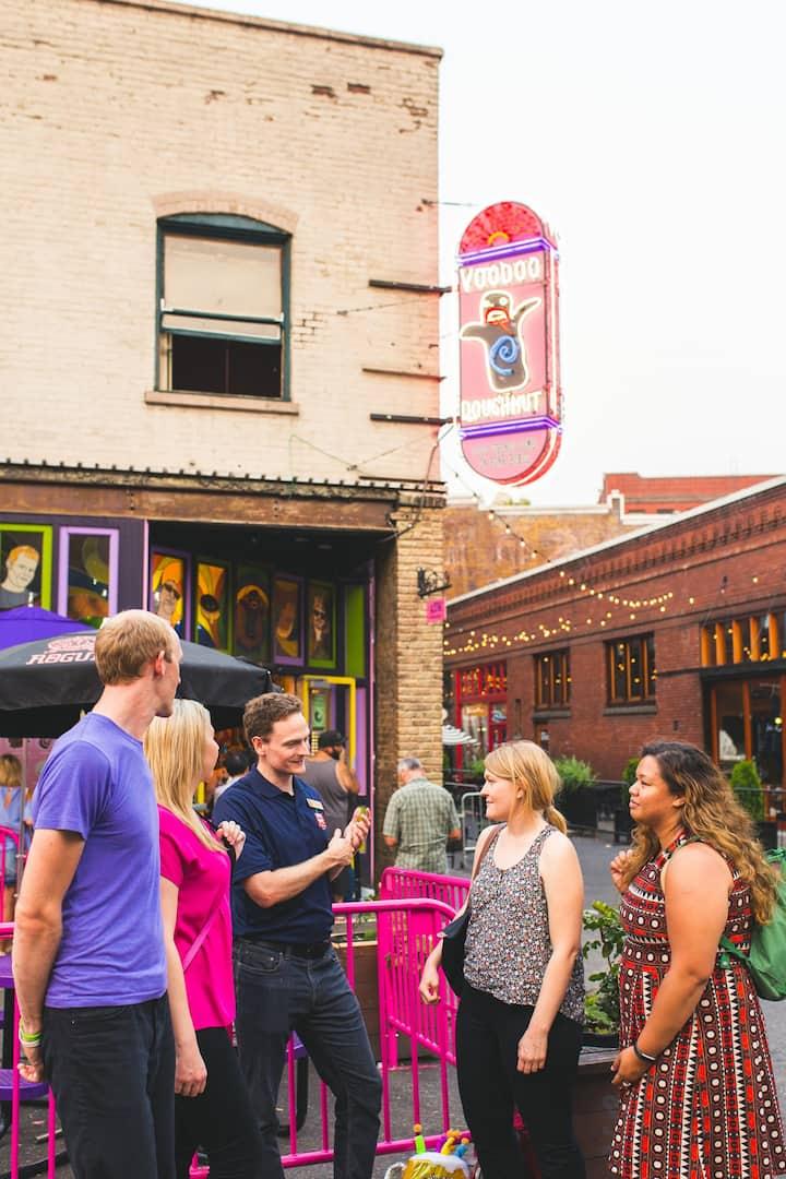 Outside Voodoo Doughnuts