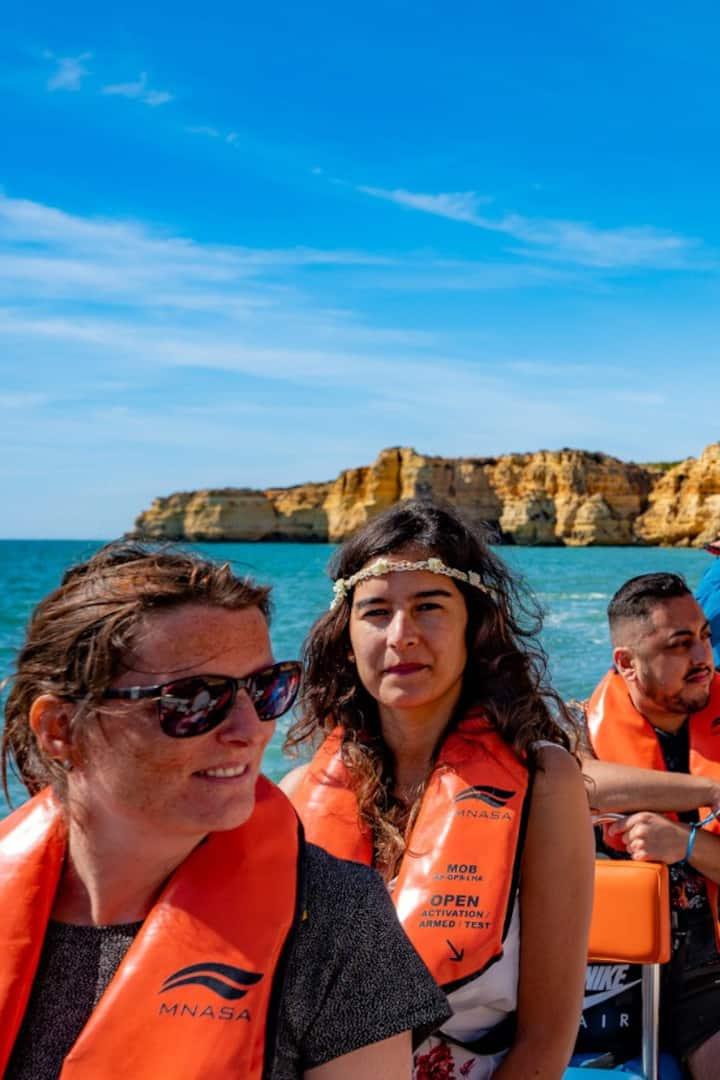 Cave of Benagil and Marinha Beach