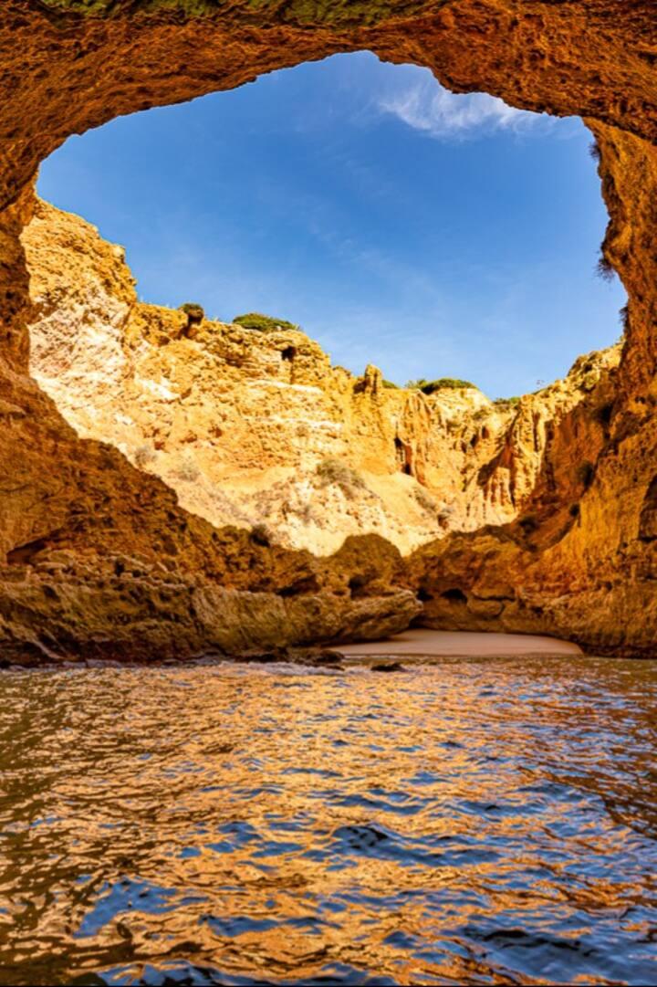 Stunning cave