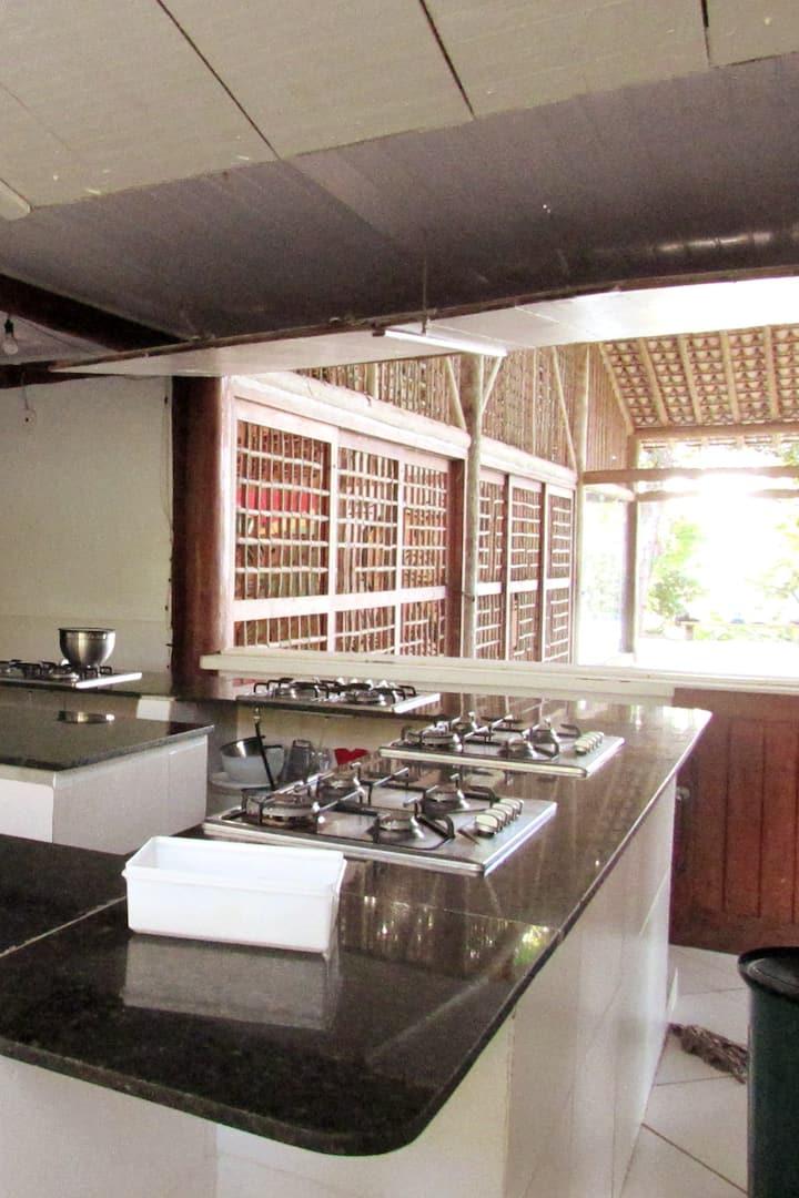 cozinha do centro cultural