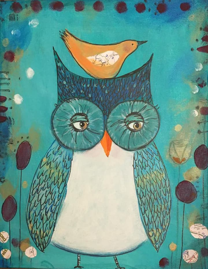 Our most requested folk painting project