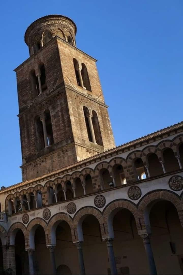 Bell Tower of the Cathedral of Salerno