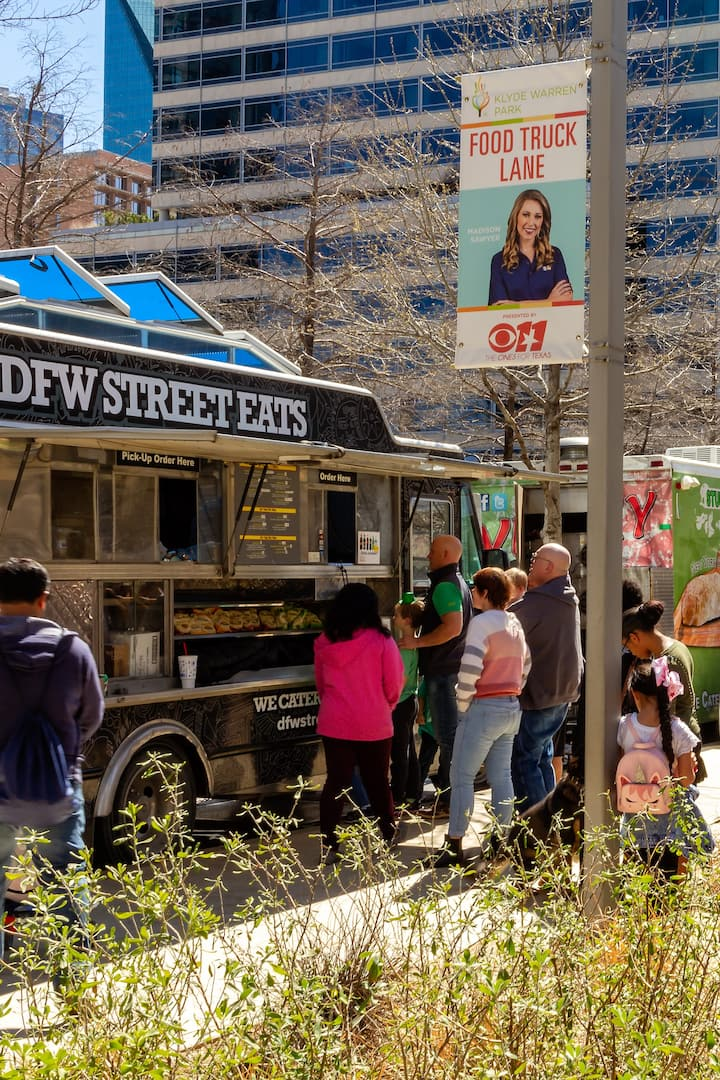 Klyde Warren Park Food Truck Lineup