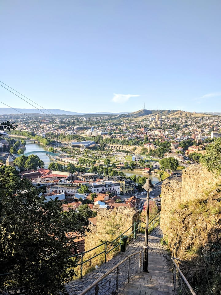Best view of Tbilisi