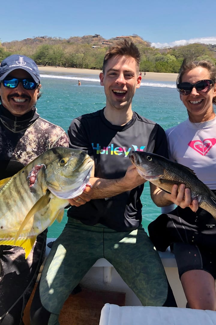 Spearfishing  and Tankless Diving