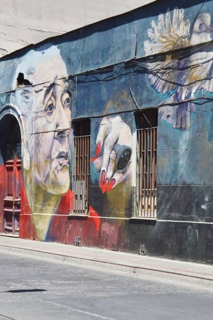 Mural Barrio Yungay