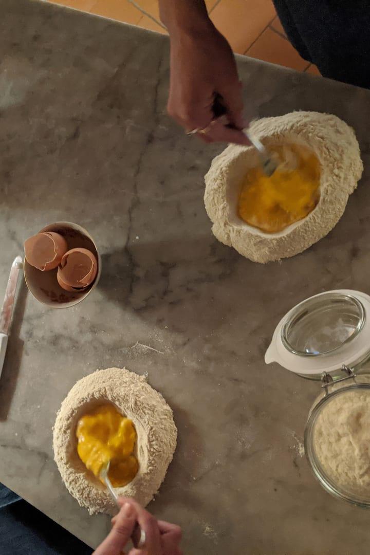 Flour + Eggs