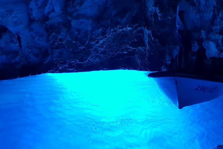 Blue Cave interior
