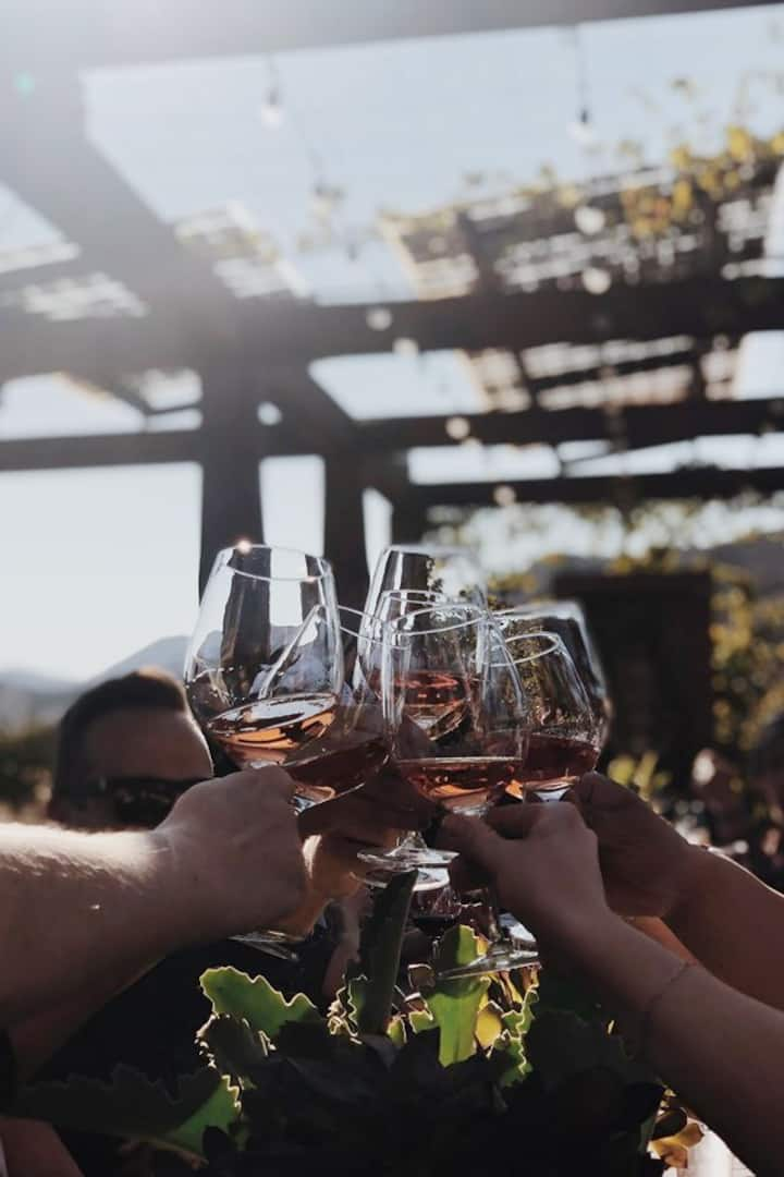 A toast for all those memories in Valle!