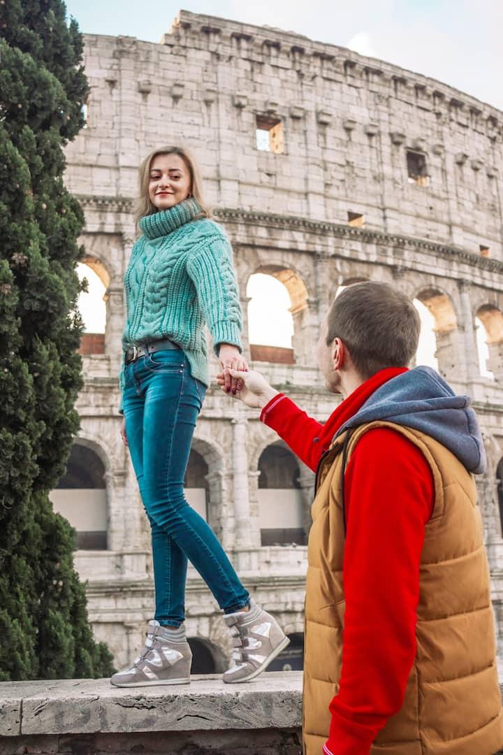 Love story Rome