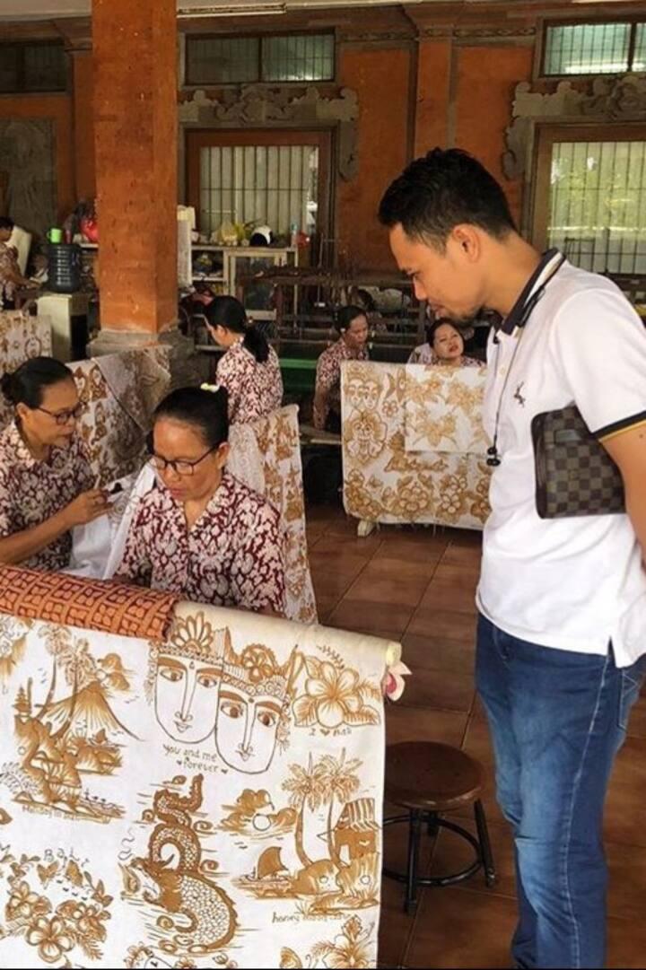 Batik&hand weaving