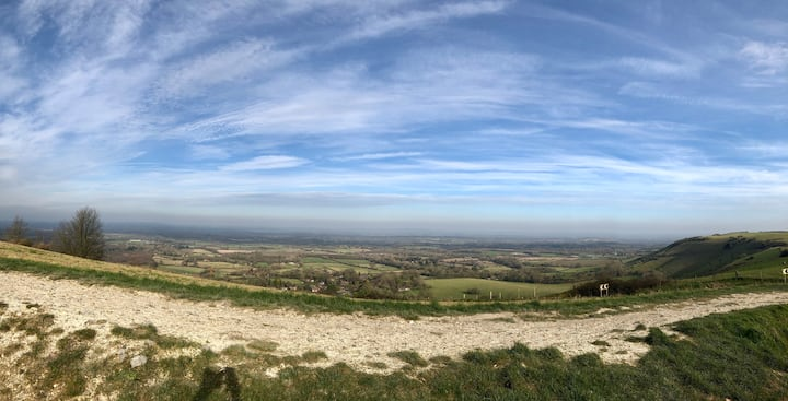 View from Ditchling Beacon