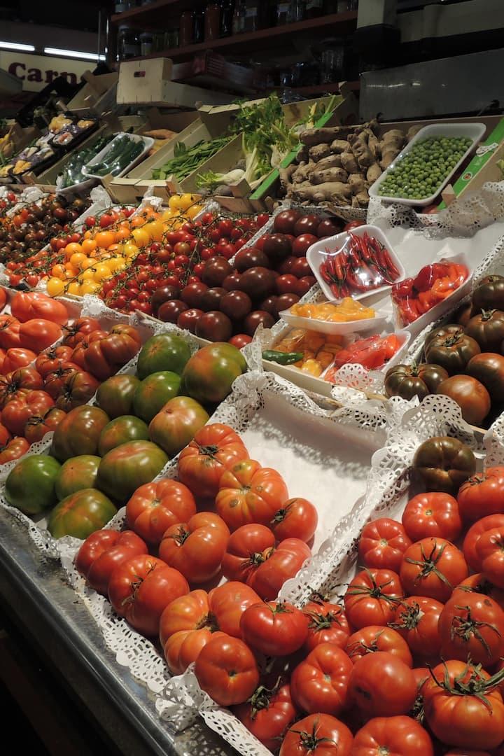 Vibrancy of Santa Caterina Market