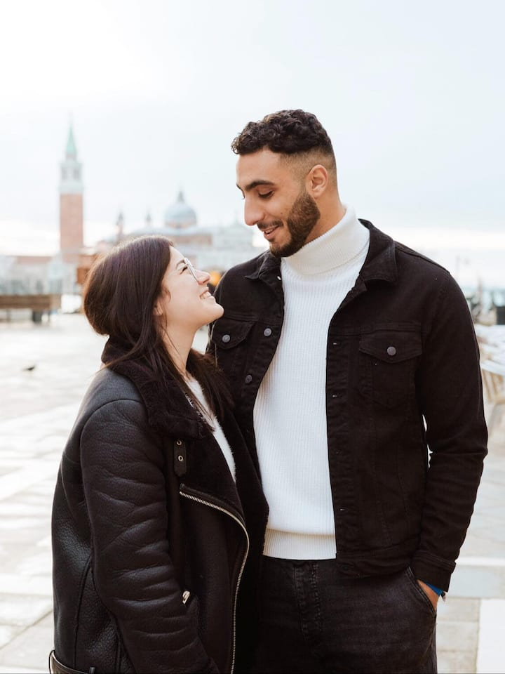 Couple Engagement Photoshoot in Venice