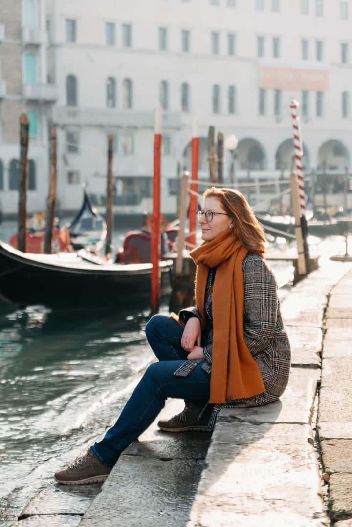 Solo Travel Photoshoot in Venice