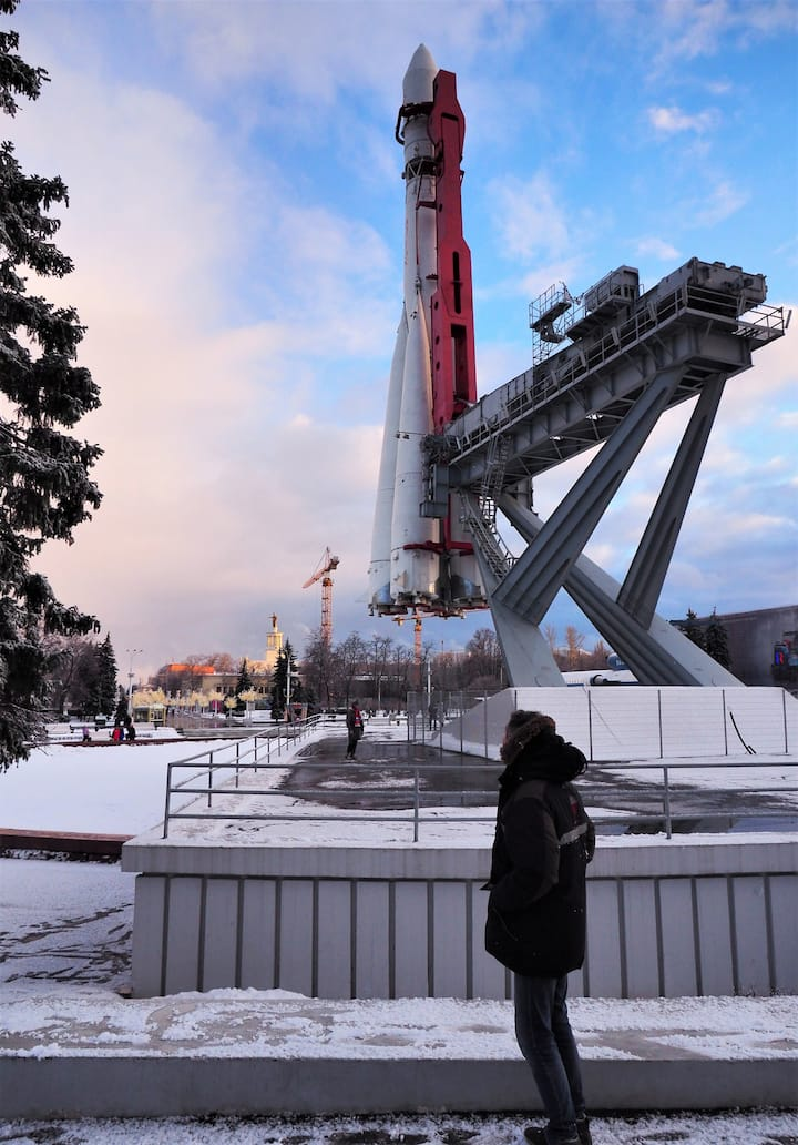 The Cosmos exhibition in VDNKh