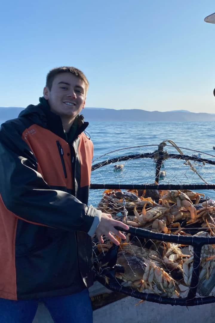 Sport crabbing late November