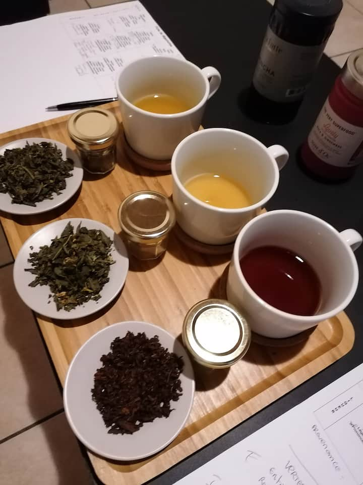 Test des nouveaux thés