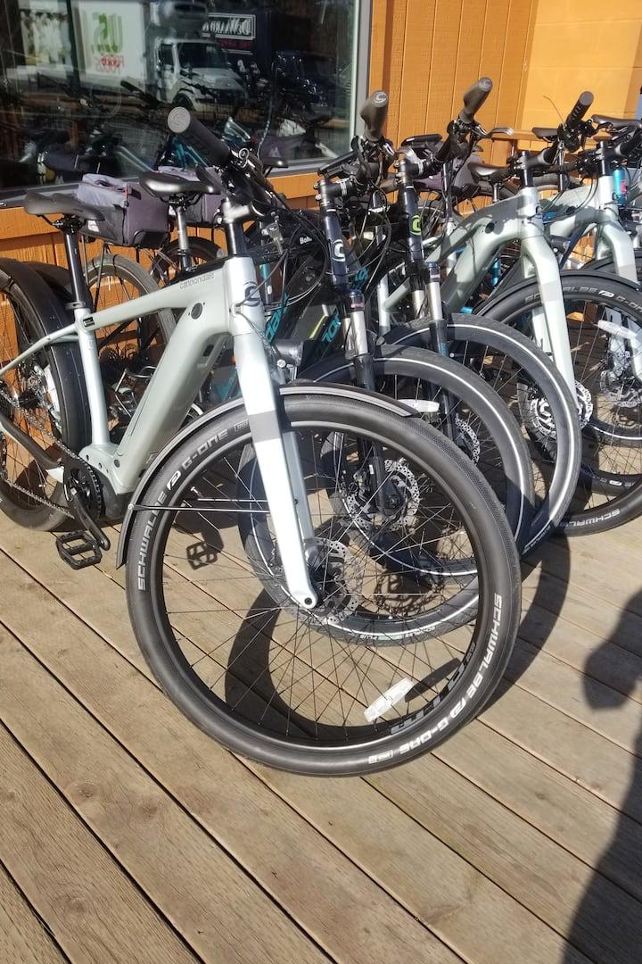 Top of the line E-bikes