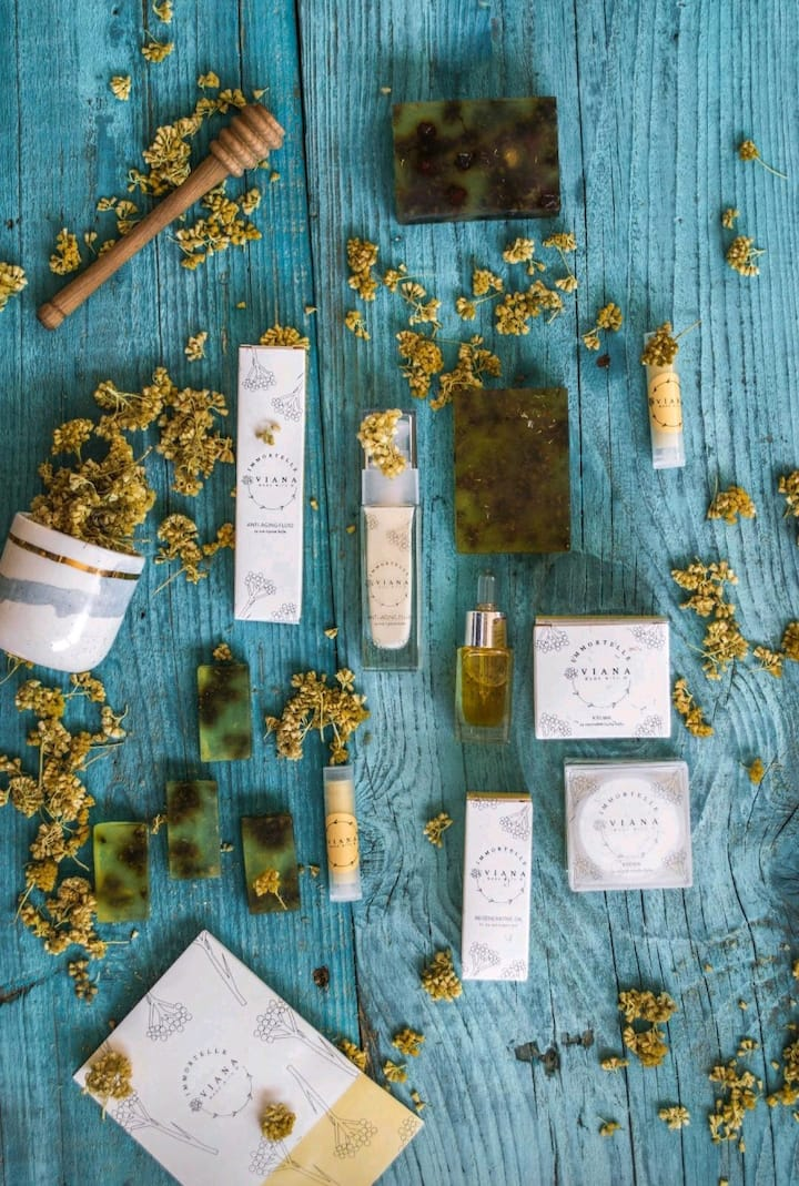 Natural VIANA Immortelle cosmetic